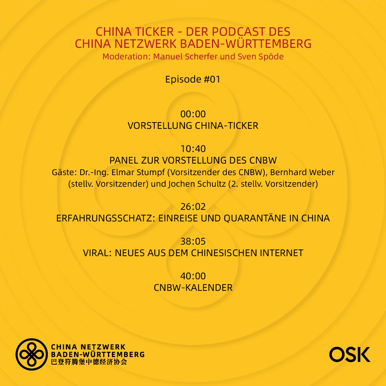 Chinaticker 1 Episode